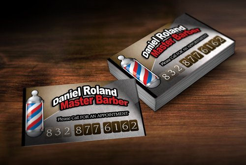 Barber Shop Business Card Beautiful Barber Girl S Barber Business Card