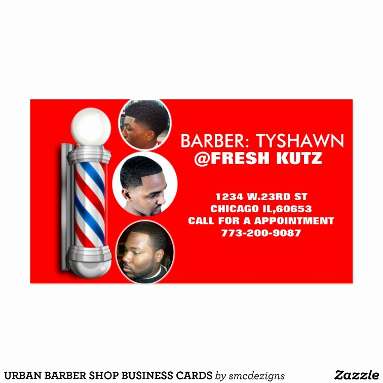 Barber Shop Business Card Inspirational Urban Barber Shop Business Cards