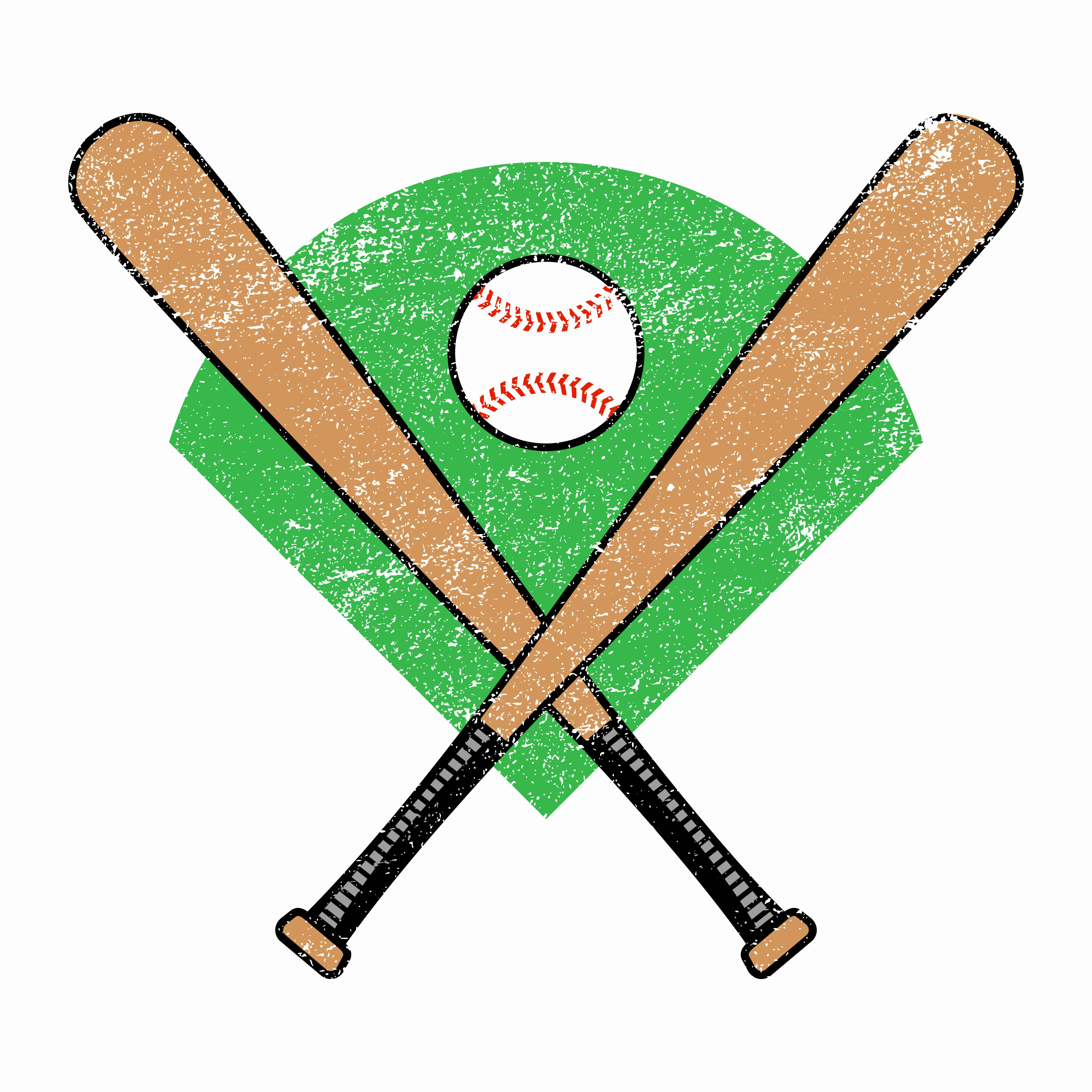 Baseball Bat Vector Free New Baseball Bat Download Free Vector Art Stock Graphics &