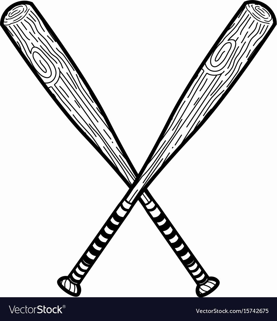 Baseball Bat Vector Free New Baseball Bat Vector – Free Download