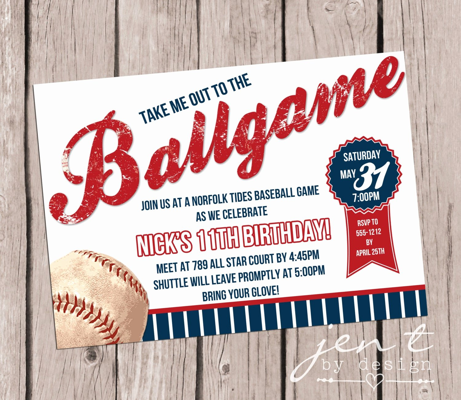 Baseball Birthday Party Invitations Awesome Baseball Party Invitations