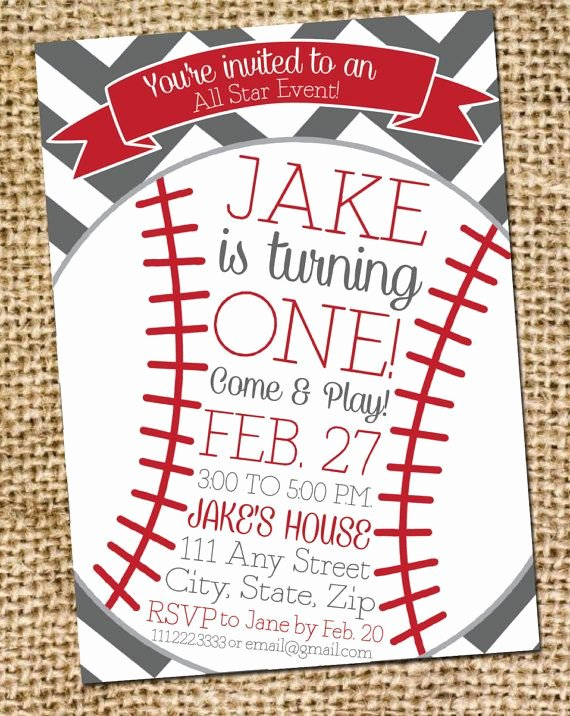 Baseball Birthday Party Invitations Best Of Best 25 Baseball Party Invitations Ideas On Pinterest