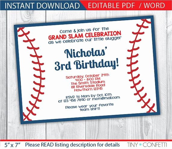Baseball Birthday Party Invitations Elegant 35 Best Vintage Sports Baseball Images On Pinterest