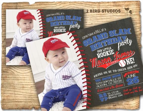 baseball party invitation baseball