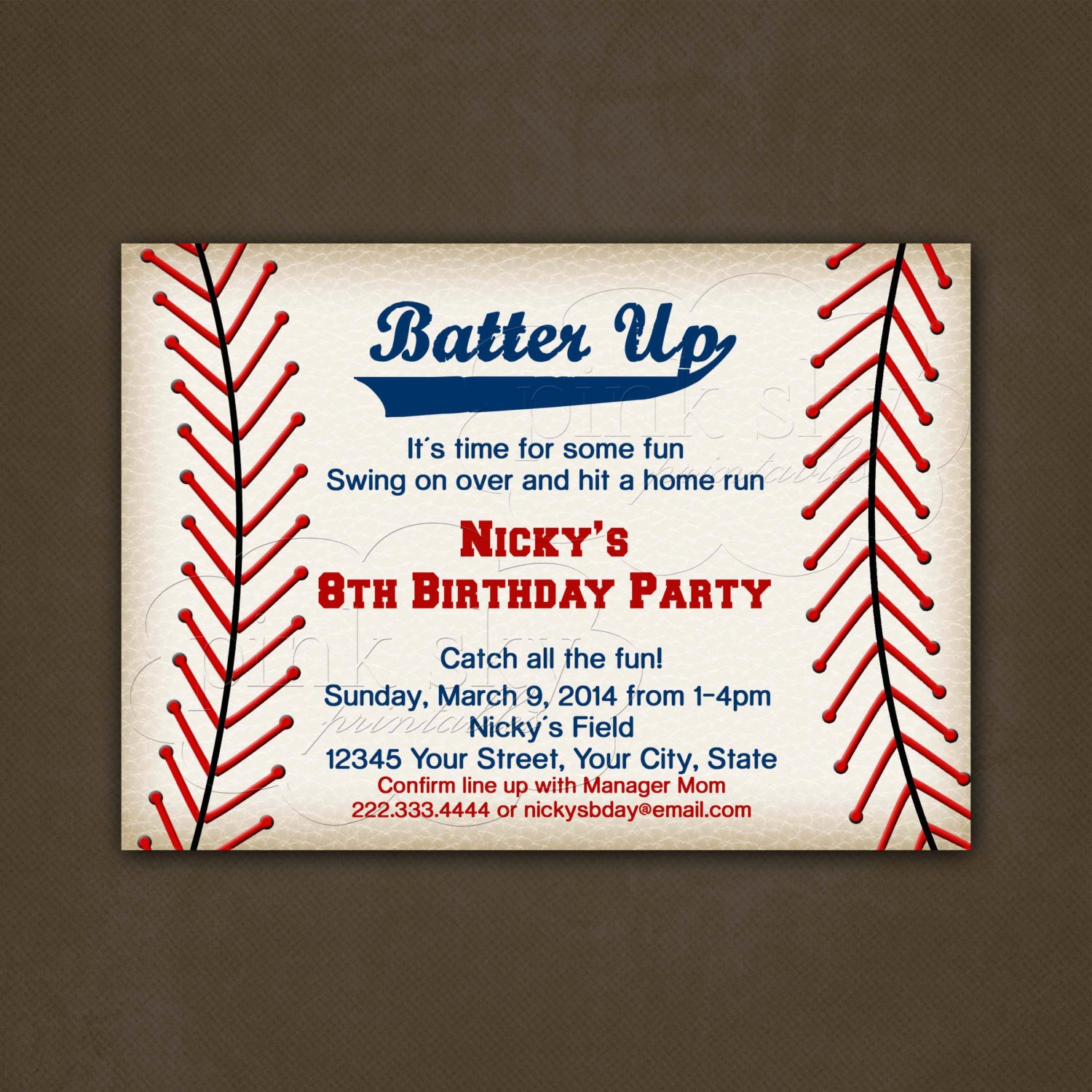 Baseball Birthday Party Invitations Luxury Chandeliers & Pendant Lights