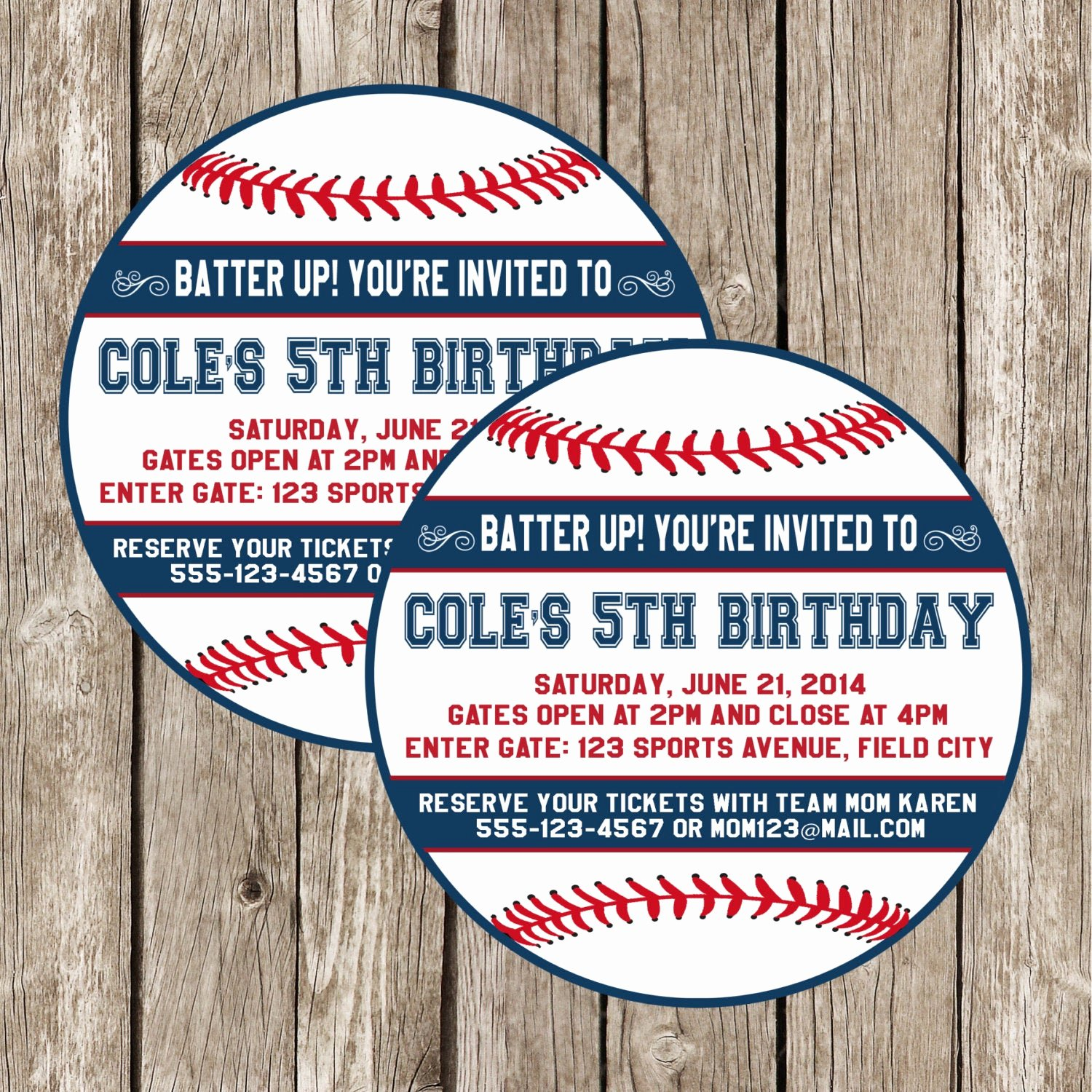 Baseball Birthday Party Invitations New Baseball Invitation Baseball Birthday Party Invitation Boy