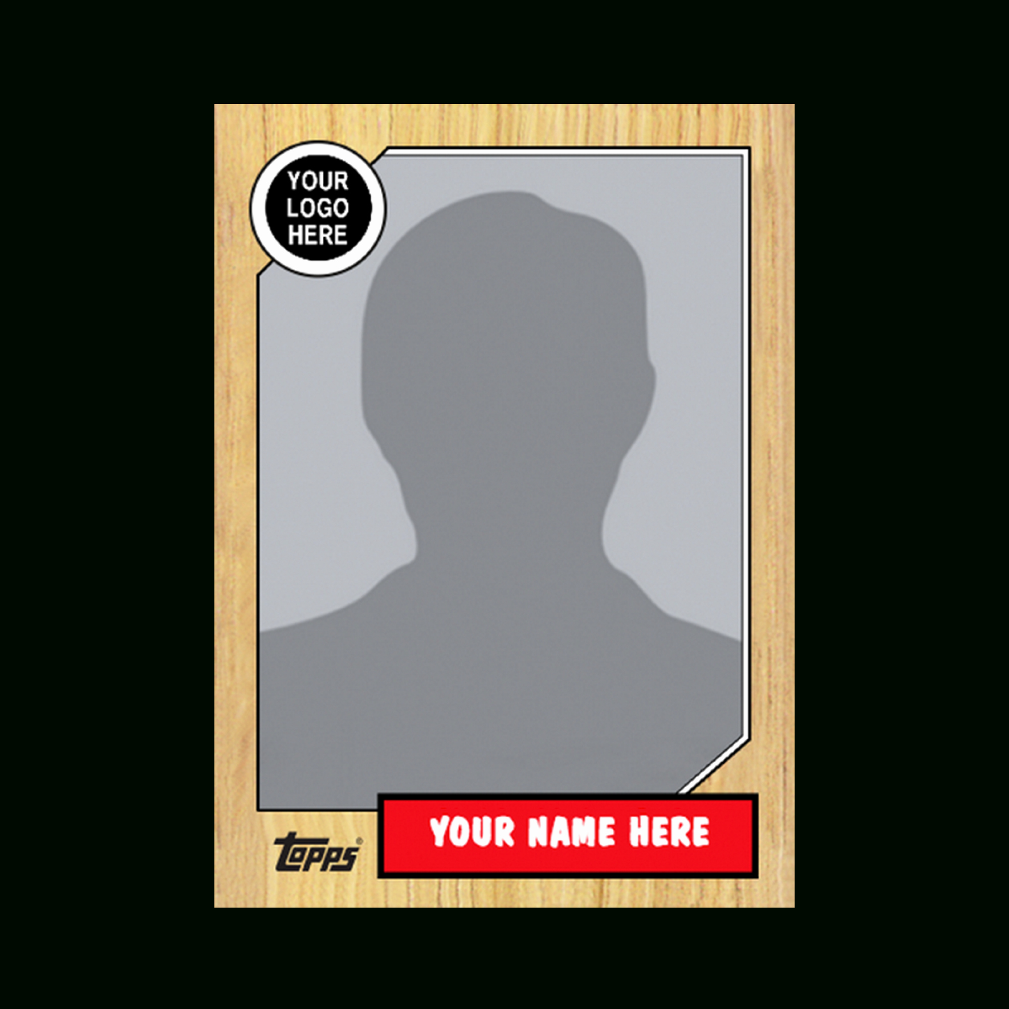 Baseball Card Template Photoshop Inspirational Baseball Card Template