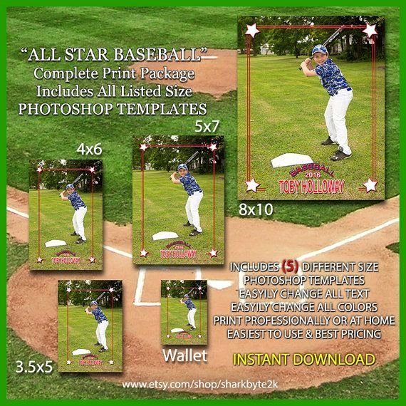 Baseball Card Templates Photoshop Best Of 17 Best Images About Baseball Card Templates On Pinterest