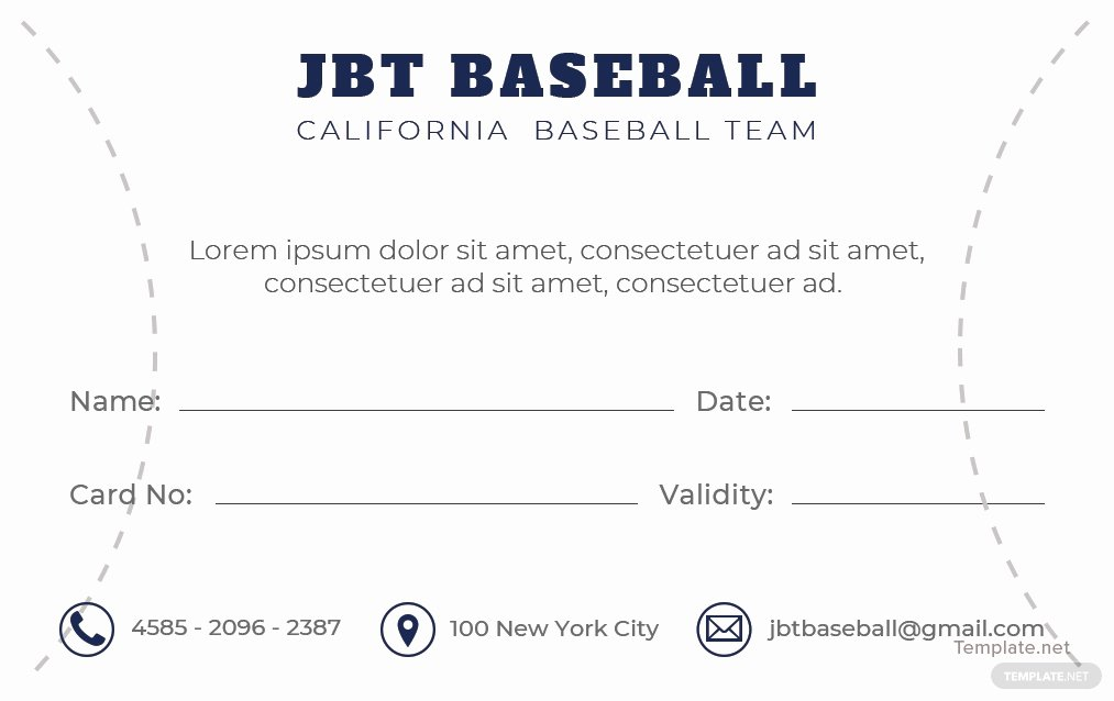 Baseball Card Templates Photoshop Best Of Free Baseball Card Template In Adobe Shop Illustrator Indesign Microsoft Word Publisher