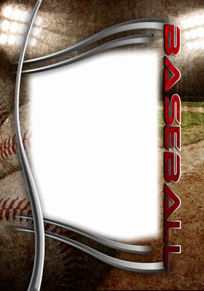 Baseball Card Templates Photoshop Lovely Baseball Templates