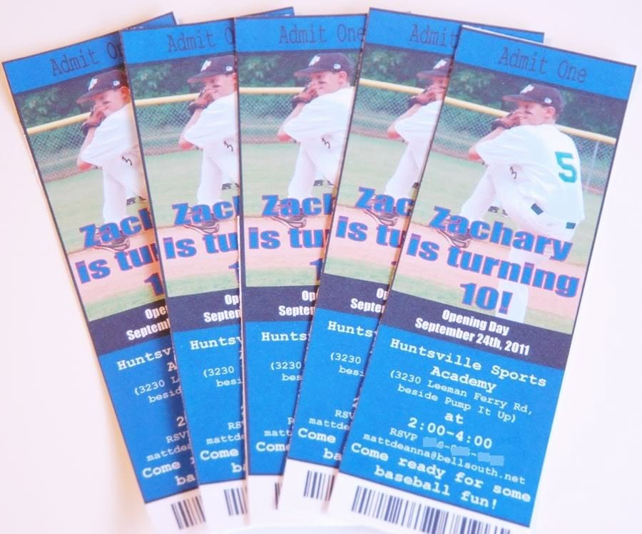 Baseball Ticket Invitation Template Free Beautiful Baseball Ticket Invitation Template Free