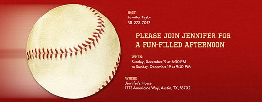 Baseball Ticket Invitation Template Free Beautiful Free Baseball Invitations Ticket Designs & More Evite