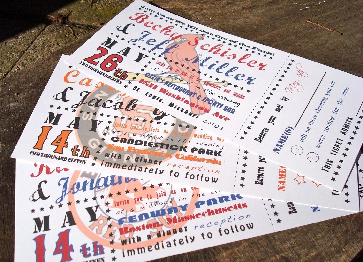 Baseball Ticket Invitation Template Free Inspirational Baseball Ticket Wedding Invitations Deposit to Get Started