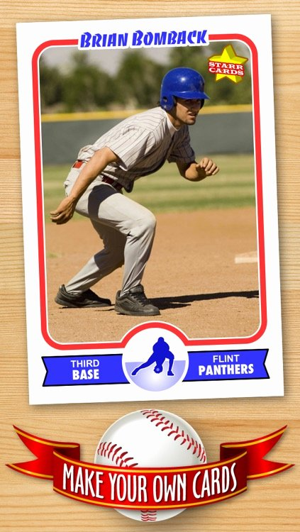 Baseball Trading Cards Template Beautiful Free Baseball Card Template — Create Personalized Sports Cards Plete with Baseball Quotes