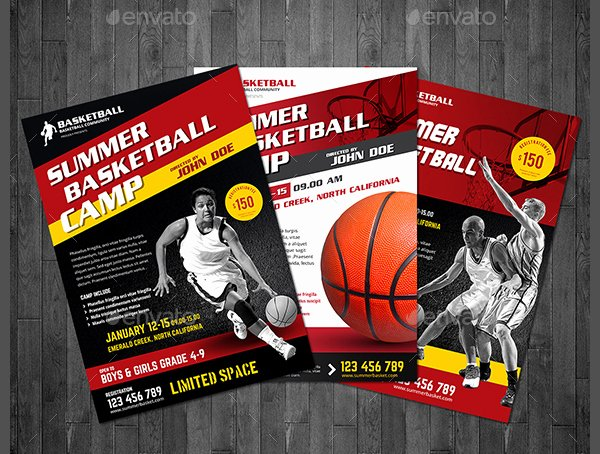 Basketball Camp Flyer Template Beautiful 19 Youth Camp Flyer Free Premium Psd Vector Png Jpg Downloads