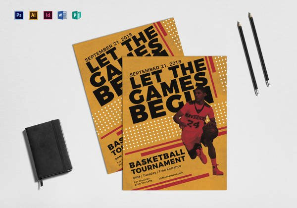 Basketball Camp Flyer Template Inspirational Basketball Flyer Template 24 Download Documents In Pdf Psd Illustration Vector Eps