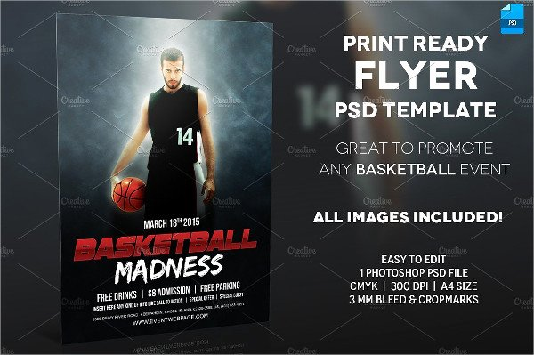 Basketball Camp Flyer Template Lovely 31 Basketball Flyer Templates Free & Premium Download