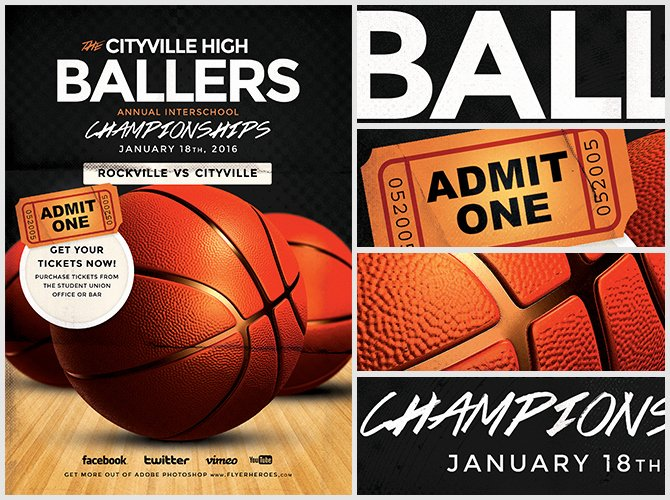 Basketball Flyer Template Free Lovely Basketball Flyer Template Flyerheroes