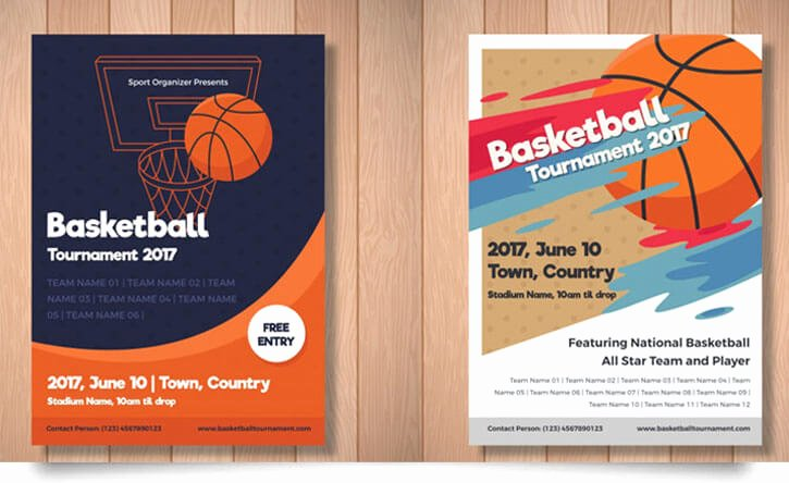 Basketball Flyer Template Free Luxury 15 Free Basketball Flyer Templates In Psd Vector Tech Trainee