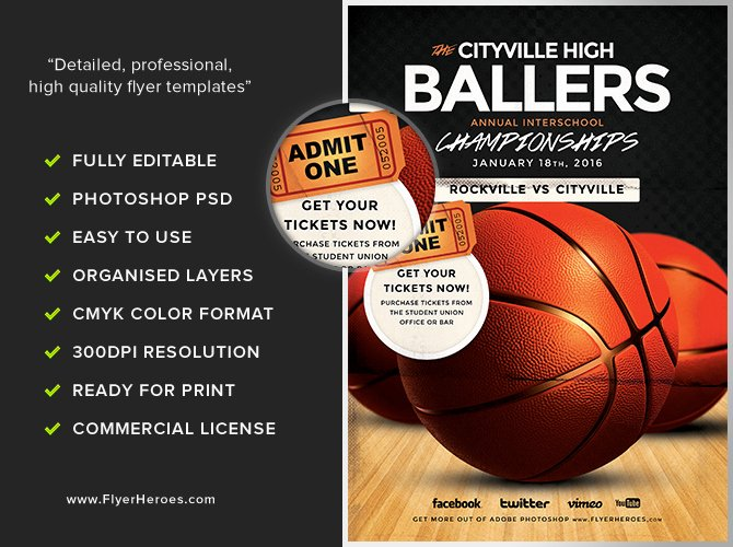 Basketball Flyer Template Free Luxury Basketball Flyer Template Flyerheroes