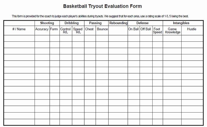 Basketball Player Evaluation form Lovely Utah Basketball Score