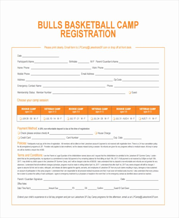 Basketball Player Evaluation form New Free 10 Sample Basketball Evaluation forms In Word