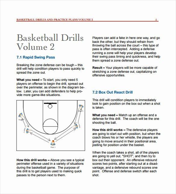 Basketball Practice Plan Pdf Fresh 11 Basketball Practice Plan Templates Free Sample