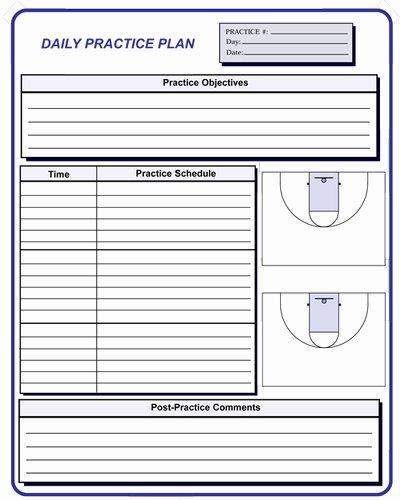 Basketball Practice Plan Pdf Inspirational Basketball Coaching forms