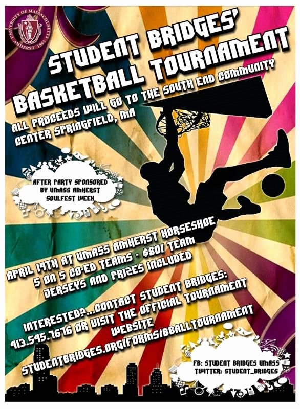 Basketball tournament Flyer Template Elegant Basketball tournament Flyer