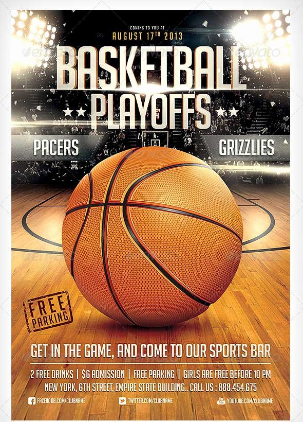 Basketball tournament Flyer Template Fresh 15 Basketball Flyer Templates Excel Pdf formats