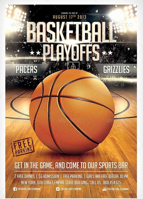 Basketball tournament Flyer Template Fresh 15 Basketball Flyer Templates Excel Pdf formats