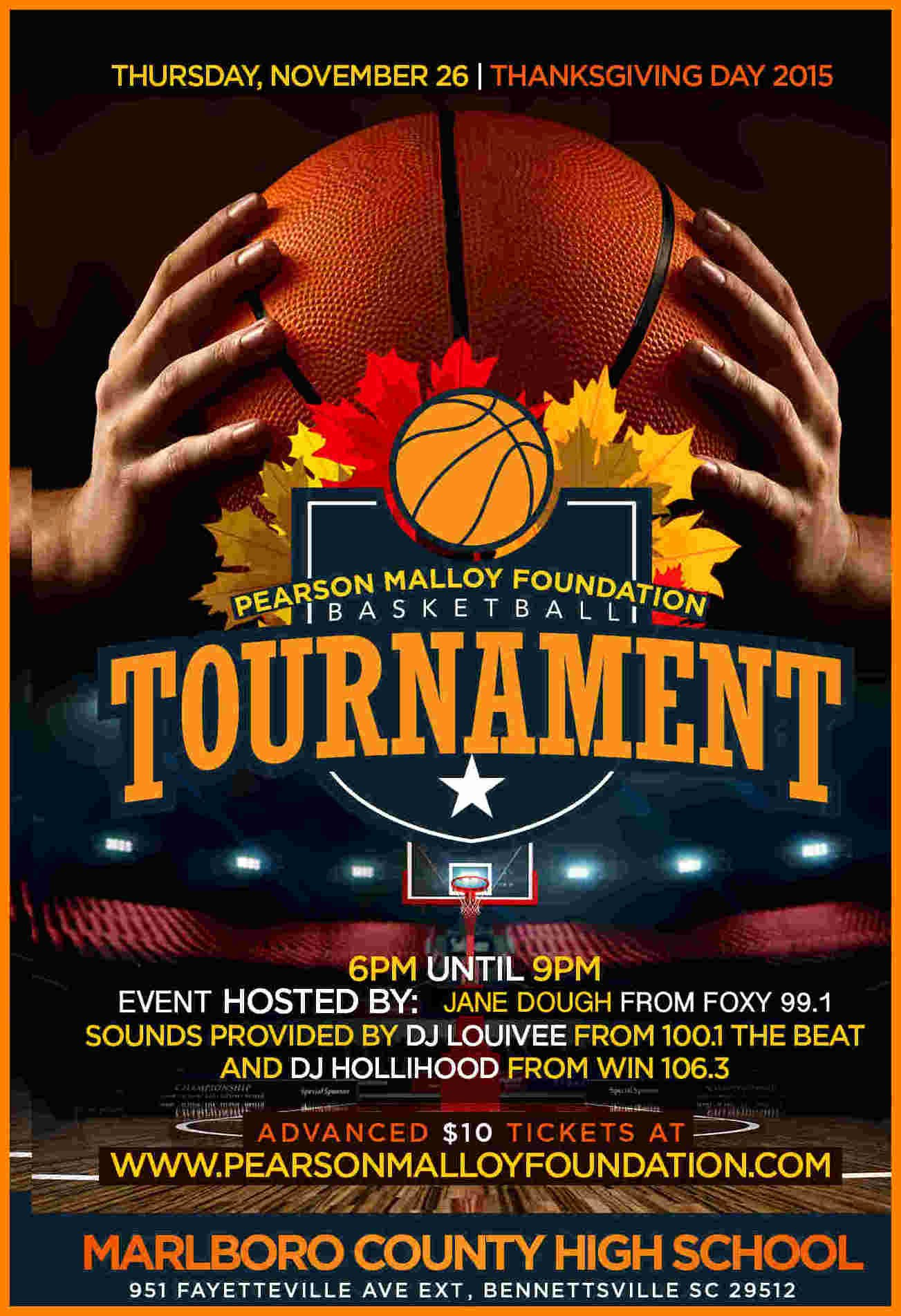 Basketball tournament Flyer Template Unique 5 Basketball tournament Flyer