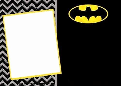 Batman Birthday Invitation Templates Unique Batman Invitation Project In 2019