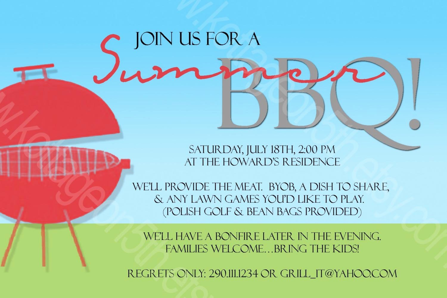 Bbq Invitation Template Word Beautiful some Advices Of Making Bbq Party Invitations