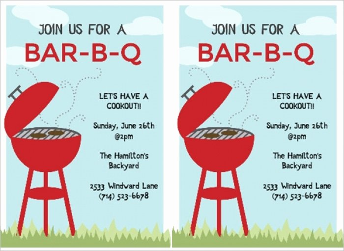 Bbq Invitation Template Word Best Of Great 50 S Party Invitation Templates Free Idea Mericahotel