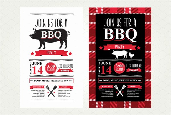 Bbq Invitation Template Word Elegant Bbq Invitation Template 31 Free & Premium Download