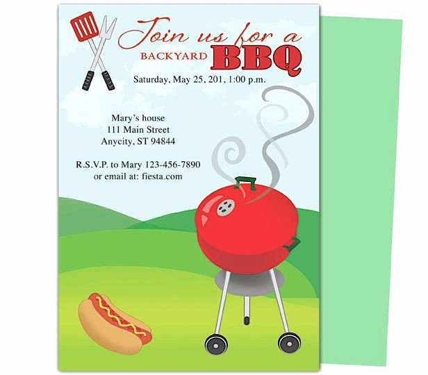 Bbq Invitation Template Word Fresh Birthday Bbq Grillin Party Templates Design Layout Easy Edit In Word Publisher Open Fice