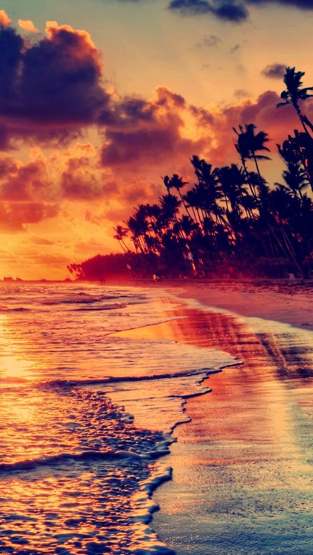 Beach Background for Photoshop Inspirational Sunset Beach iPhone 5s Wallpaper Download