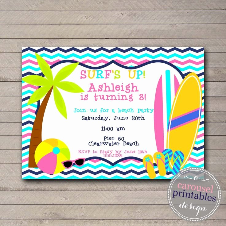 Beach Birthday Party Invitations Fresh 338 Best that S Clever Images On Pinterest