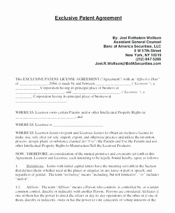 Beat Lease Contract Template Elegant Exclusive Rights Agreement Template – Digitalhustle