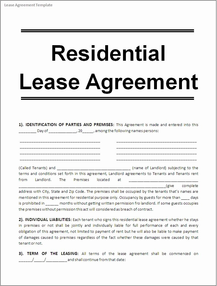 Beat Lease Contract Template Lovely How to Change the Terms Of A Lease