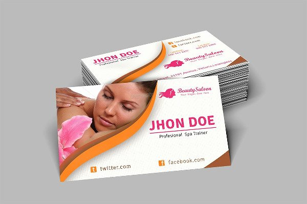 Beauty Salon Business Card Best Of 23 Spa Salon Business Card Templates Free & Premium Download