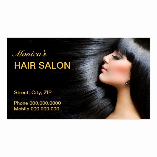 Beauty Salon Business Card Best Of Hair Salon Business Card Business Card