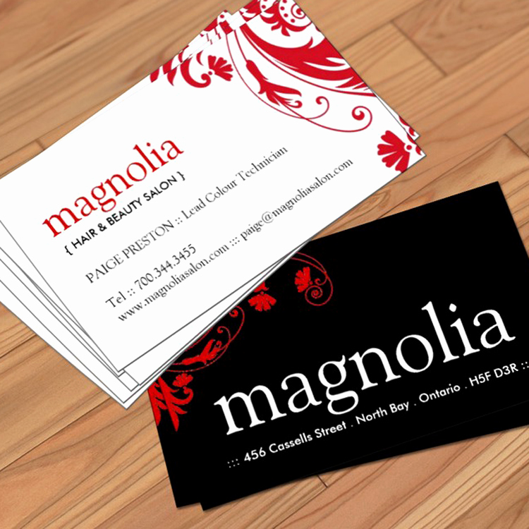 Beauty Salon Business Card Luxury Beauty Salon Business Cards Zazzle