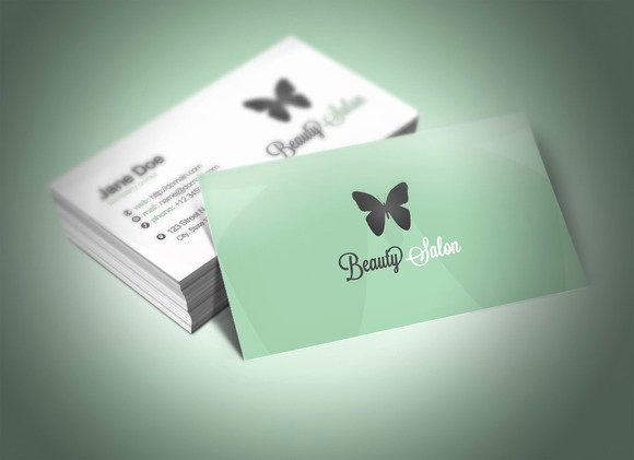 Beauty Salon Business Cards Elegant 20 Cool Salon Business Card Templates