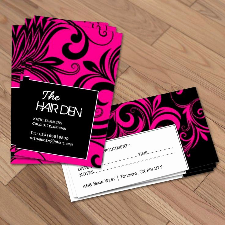 Beauty Salon Business Cards Luxury top 25 Hair Stylist Business Card Examples From Around the Web