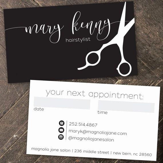 Beauty Salon Business Cards New Modern Custom Hair Stylist Business Cards Professionally Printed