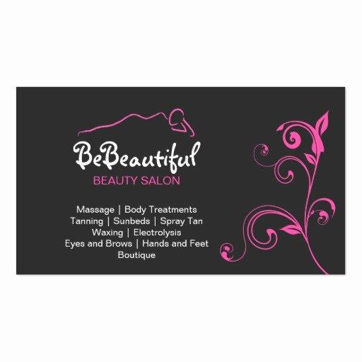 Beauty Salon Business Cards Unique Beauty Salon Business Card