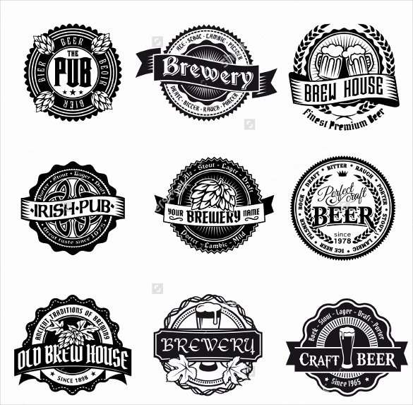Beer Label Template Illustrator Awesome Beer Label Template 27 Free Eps Psd Ai Illustrator format Download