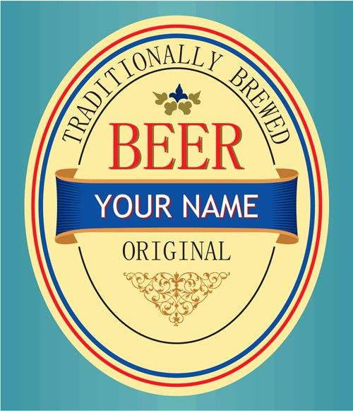 Beer Label Template Illustrator Beautiful Beer Label Vector Free Vector 8 467 Free Vector for Mercial Use format Ai Eps